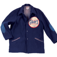 Homestead Grays 1935 Authentic Fingertip Jacket