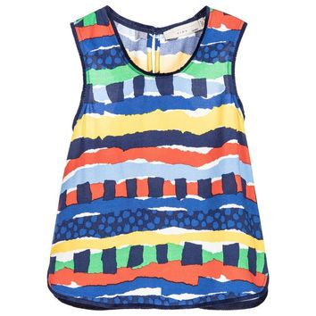 Stella McCartney Girls Colorful Striped Top