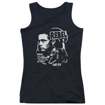 Dean - Rebel Cover Juniors Tank Top