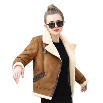 Brown Shearling Sheepskin Coats