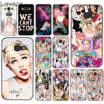 Lavaza BANGERZ Miley Cyrus We Can T Stop collage Case for Samsung Galaxy A3 A5 A7 J3 J5 J7 2015 2016 2017 Grand Prime 2 Note 4 3