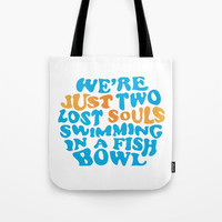 Floyd Pink - wish you were here Tote Bag by g-man