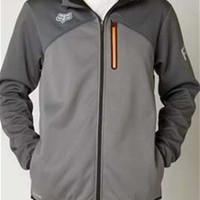 Gliks - Fox Racing Thermabond Threat Jacket in Graphite for Men