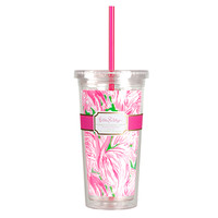 Tumbler - Pink Colony - Lilly Pulitzer