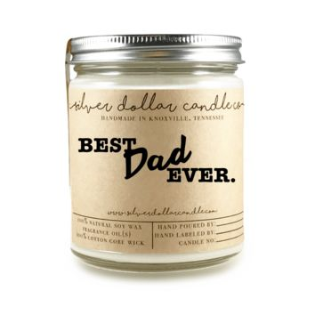 Best Dad Ever - 8oz Soy Candle