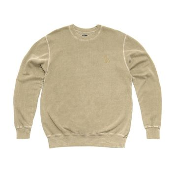 DISTRESSED OWL CREWNECK SWEATSHIRT | October's Very Own