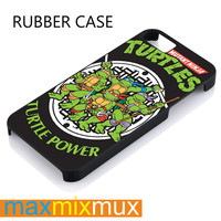 Ninja Turtle Warrior Hero 2 iPhone 4/4S, 5/5S, 5C, 6/6 Plus Series Rubber Case