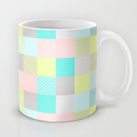 Decorated Pixel II Mug by Louise Machado