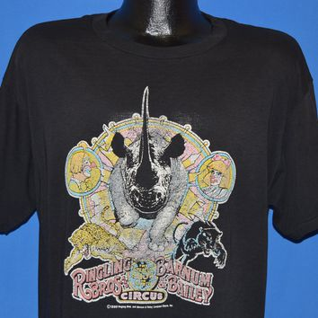 80s Ringling Brothers Barnum Bailey Circus t-shirt Extra Large
