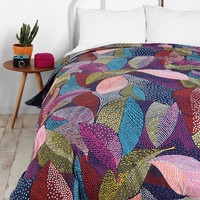Urban Outfitters - Dot Leaves Duvet Cover