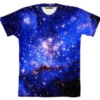 ☮♡ Blue Galaxy Shirt ✞☆
