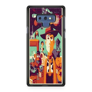 Toys Story Woody Film Art Disney Poster Samsung Galaxy Note 9 Case | Casefruits