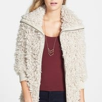 Junior Women's BP. Faux Shearling Jacket