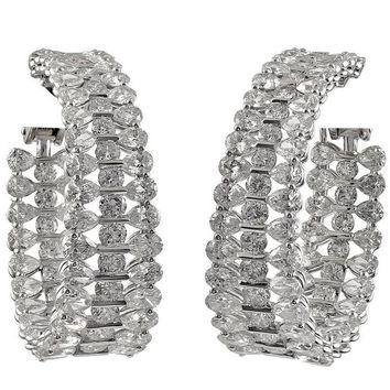 Chopard Diamond White Gold Earclips