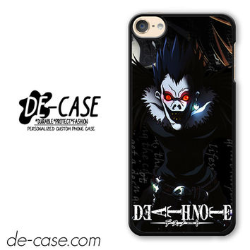 Death Note Japan Manga DEAL-3112 Apple Phonecase Cover For Ipod Touch 6