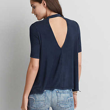 AEO Soft & Sexy Swing T-Shirt, Midnight Blue