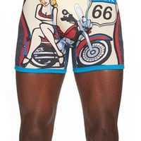 Men's The Rail 'Route 66' Boxer Briefs ,