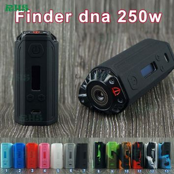 Silicone case of Think Vape Finder 250 DNA 250 Box Mod With Zinc Alloy Body And Lether Battery Sleeve environmentally friendly