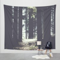 She will guide you Wall Tapestry by HappyMelvin | Society6