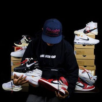 CREYNW6 OFF WHITE x Nike Custom Made Blazer Studio | Zoom Vaporfly | Air More Uptempo | Air Max 90 Ice | AIR Presto OW | Air Force 1 | Air Max 97 OG | Air VaporMax | Jordan 1 Sport Shoes Sneaker