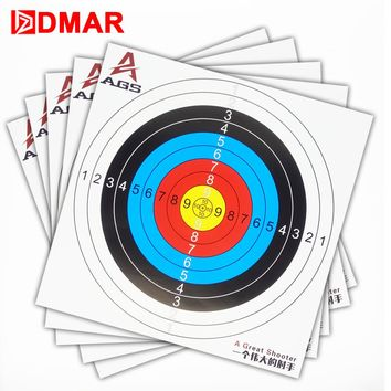 "30pcs Archery Target Paper 40cm/16"" Reinforced Waterproof Shooting Paper Hunting Archery Accessories Arrow Recurve Compound bow"