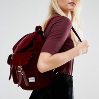 Herschel Supply Co Dawson Velvet Backpack at asos.com