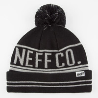 Neff Reflect Beanie Black One Size For Men 26587410001