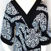 White House Black Market Small Top Blouse Doman Signature knits