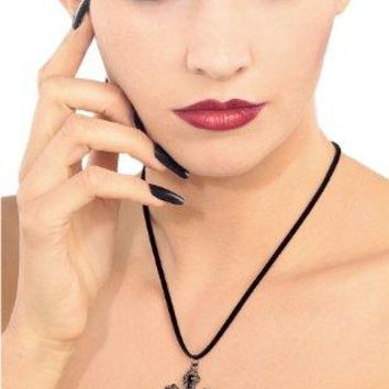 SHIP BY USPS Rubie's Costume Blood Line Collection Gothic Cross Necklace