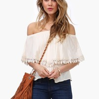 Barcelona Off The Shoulder Top