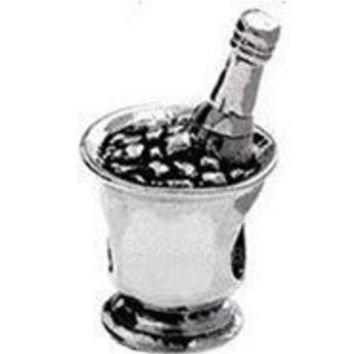 NEW Silver Plated Bead Charms Vintage Accessories Bottle Silver Bead Fit Women Pandora Bracelet & Bangle Necklace jewelry H584