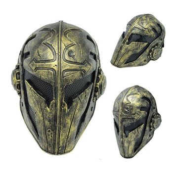Cosplay Tactical Airsoft Full Face Protection Templar Mask