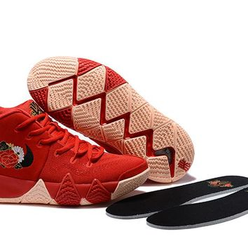 Nike Kyrie Irving 4 Chinese Red Women Men Sport Shoes