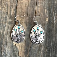 Wild & Free Cactus Earrings