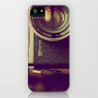 Camera iPhone & iPod Case by Electric Avenue