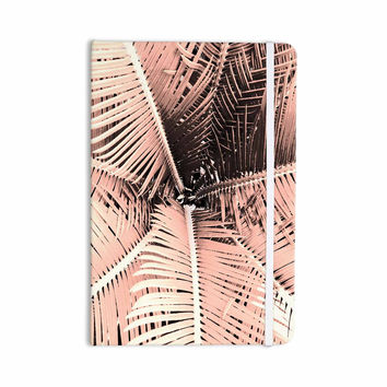 "Suzanne Carter ""Palm-Peach"" Pink Black Everything Notebook"