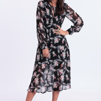 Night Walk Midi Dress