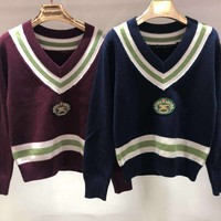 Burberry Woman embroidered sweater