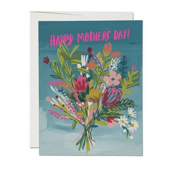 RED CAP CARDS NEON PINK MOTHER CARD