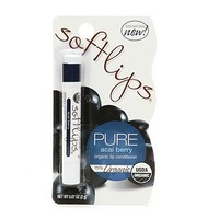 Softlips Pure, Organic Lip Conditioner, Acai Berry