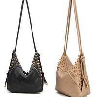 Cool Stars Retro Rivet Shoulder Bag