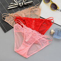 Sexy Lace Ladies Transparent Pants Panties [10304880972]
