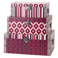 Irresistible Storage Boxes, Set of 3, Storage Boxes & Bins
