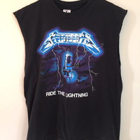 Vintage METALLICA Cut Off T-Shirt