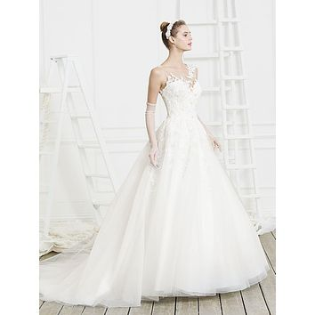 Beloved by Casablanca Bridal Hope Soft Tulle Lace Ball Gown Wedding Dress