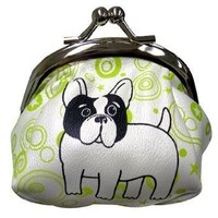 Mod Frenchie Coin Purse by Fluff - FC630FR $13.50