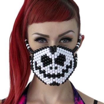 Jack Skellington Surgical Kandi Mask