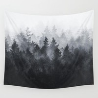 Trees Forest Style Tapestry 100% Polyester Sunrise Evening Beautiful Scenery Decoration