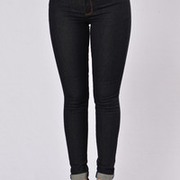 Check You Out Jeans - Dark Blue