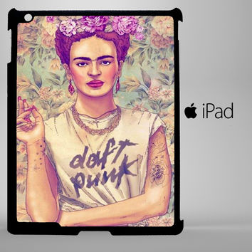 Frida Kahlo Daft Punk iPad 2, iPad 3, iPad 4, iPad Mini and iPad Air Cases - iPad